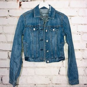 American eagle ae Jean denim jacket small